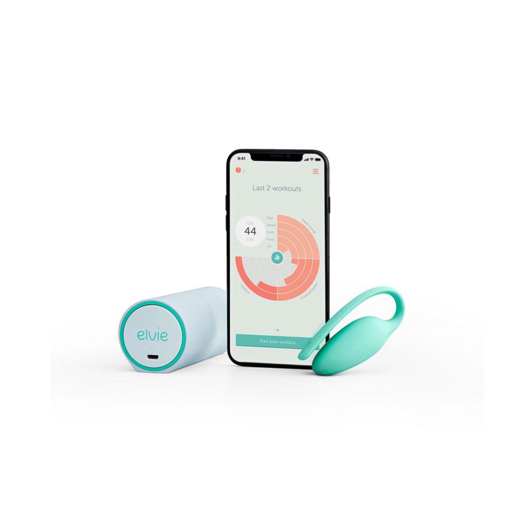 Elvie - fortalece la musculatura del suelo pélvico conectándose a una app gratuita que visualiza, guía y corrige los ejercicios en tiempo real.